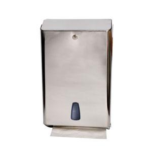 Dispenser inox per monouso e carta asciugamani
